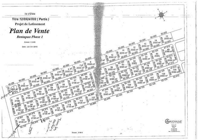 Vacant Land Rentapao, (1572) Port Vila Vanuatu