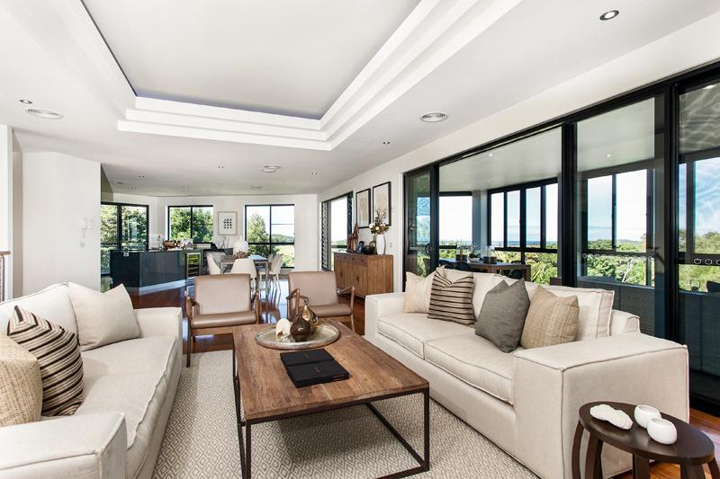 Expansive contemporary home